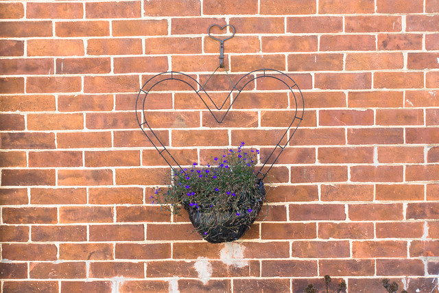 Heart Shaped Flower Box