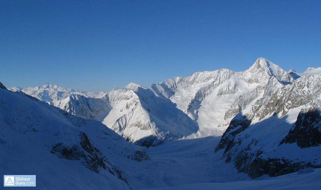 Grosser Aletschhorn Berner Alpen / Alpes bernoises Schweiz foto 13