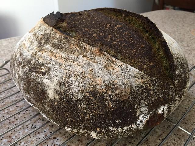 Matcha/Amanatto/Kamut Bread