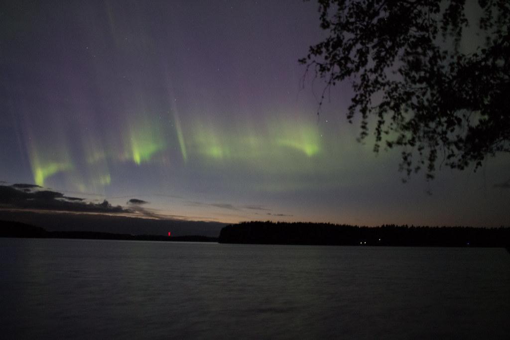 revontulet, Luumäki, Suomi