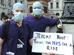 NHS-Related Protests
