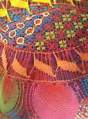 Nanduti, handcraft lace from Paraguay.