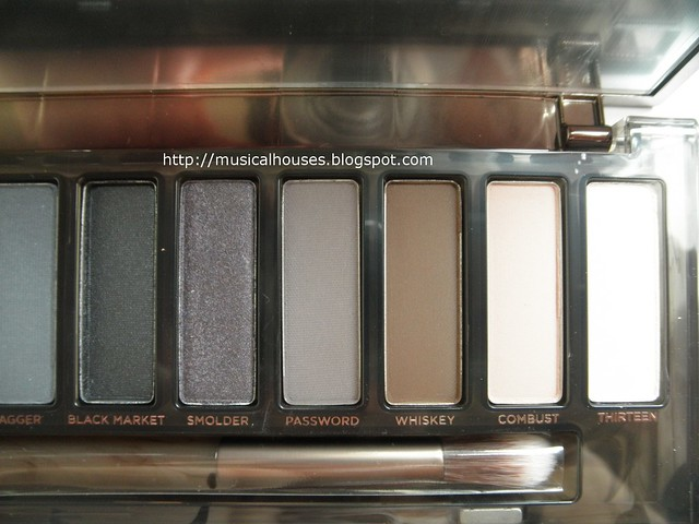 Urban Decay Naked Smoky Palette Shades 7 - 12