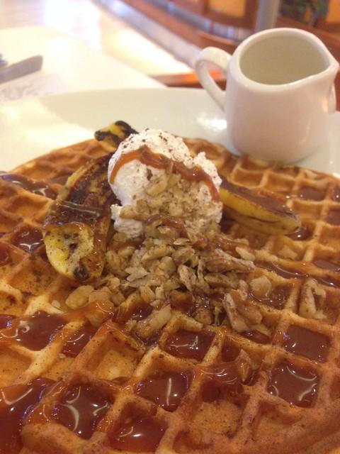Dinner @ Paddington House of Pancakes, Mid Valley
