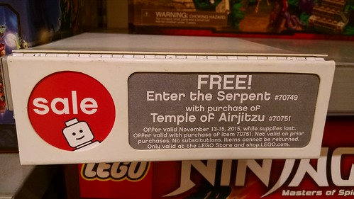 LEGO Ninjago Temple of Airjitzu (70751) Promotion