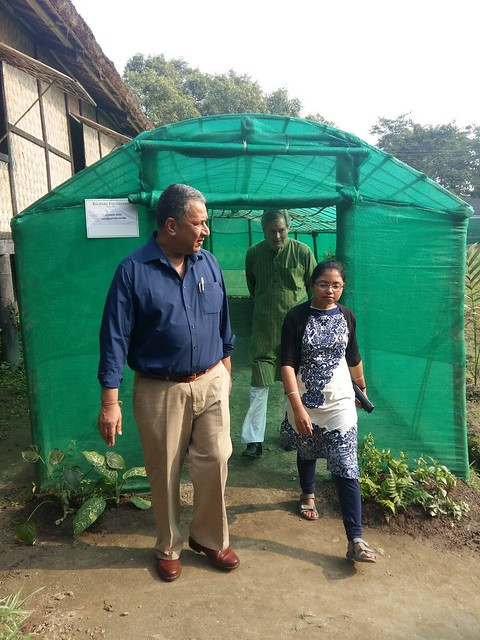 Visit to Flower Germination House