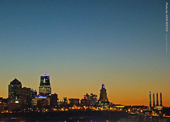 Kansas City before sunrise, 12 Nov 2015