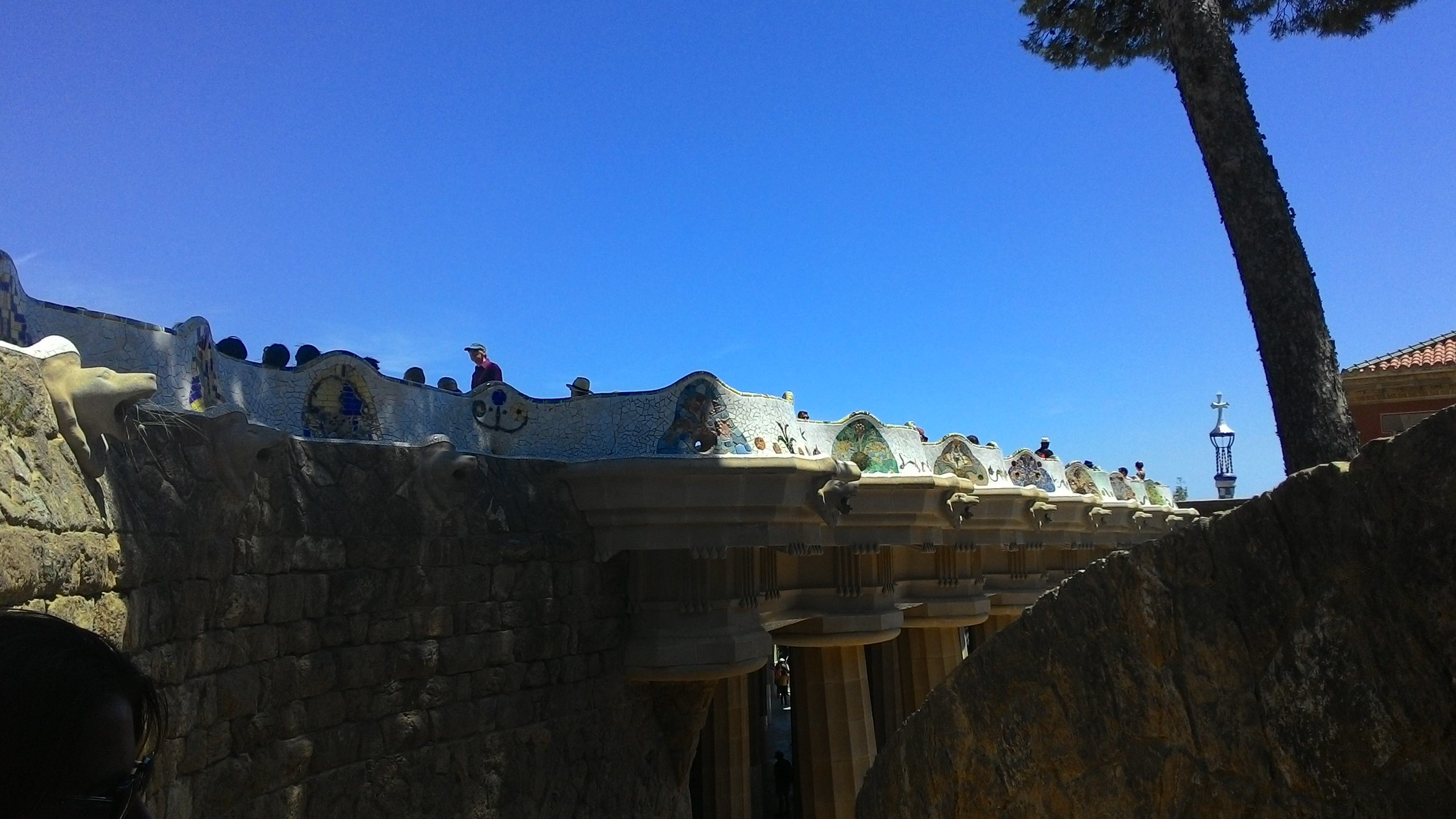 Park Güell - Sala Ipostila