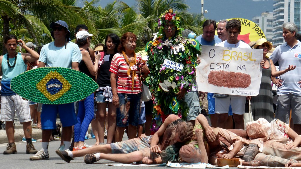 Marcha Global pelo Clima, no Rio #COP21