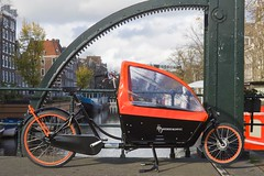 WorkCycles Kr8 Black Box Orange Rims 4