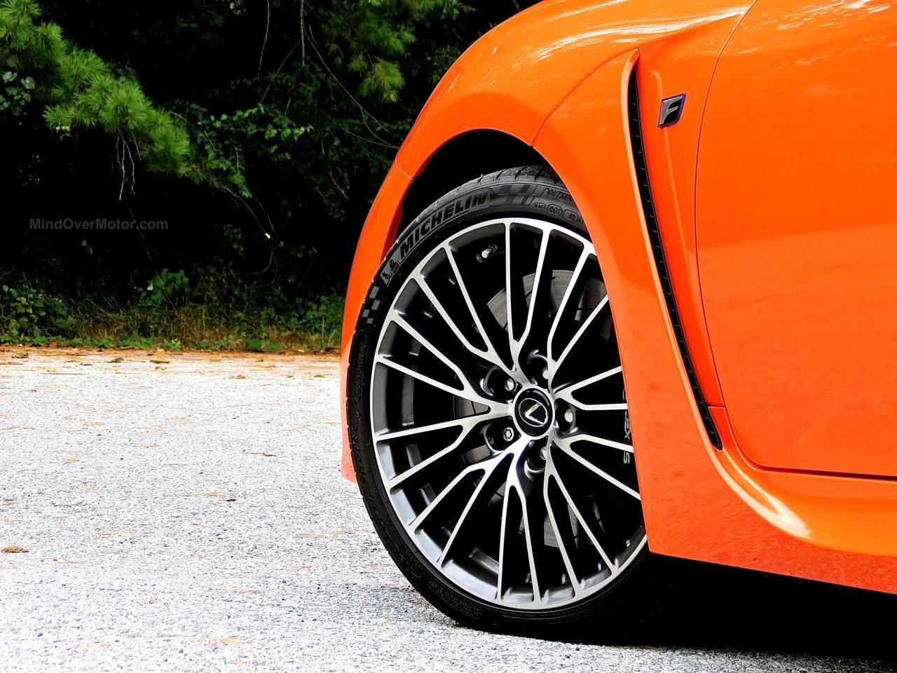 Orange Lexus RC-F Review 11