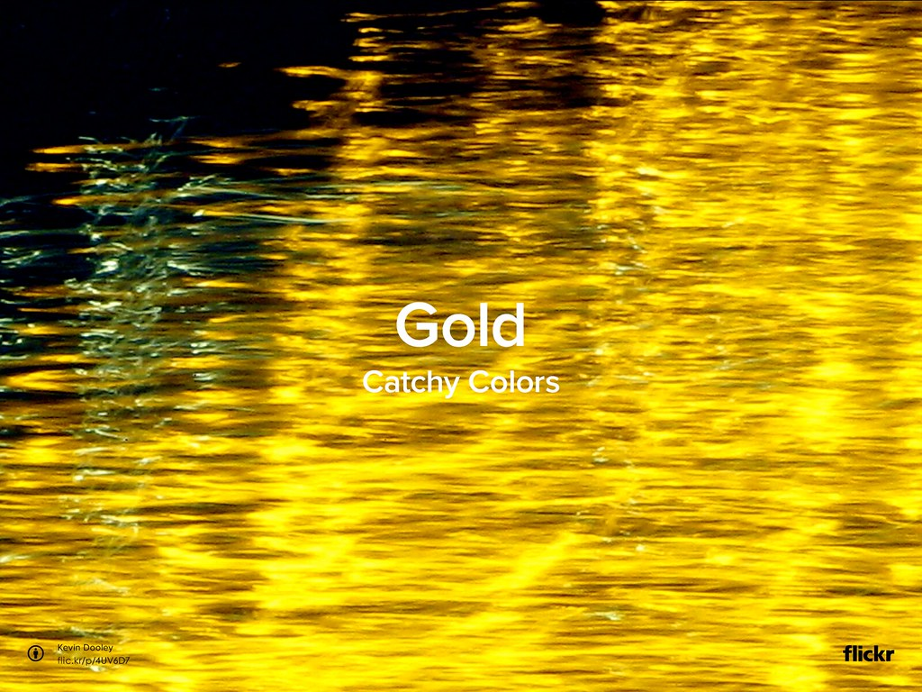 CatchyColors: Gold