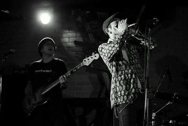 The AstroBluenauts live at Thumbs Up, Yokohama, 26 Nov 2015. 060