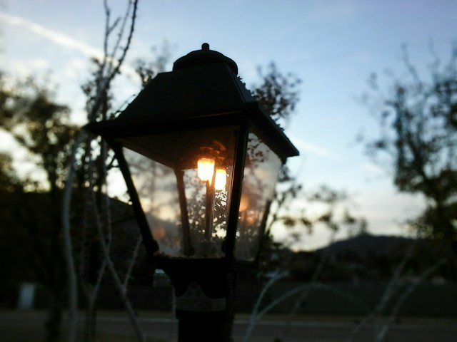 Sunset Lens Blur