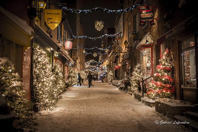 .Vieux Champlain, Québec...