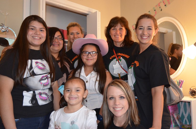 Elves in Disguise 2015: Family and team