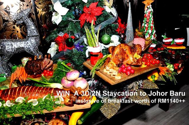 Makan Kitchen DoubleTree Kuala Lumpur Christmas Promotion