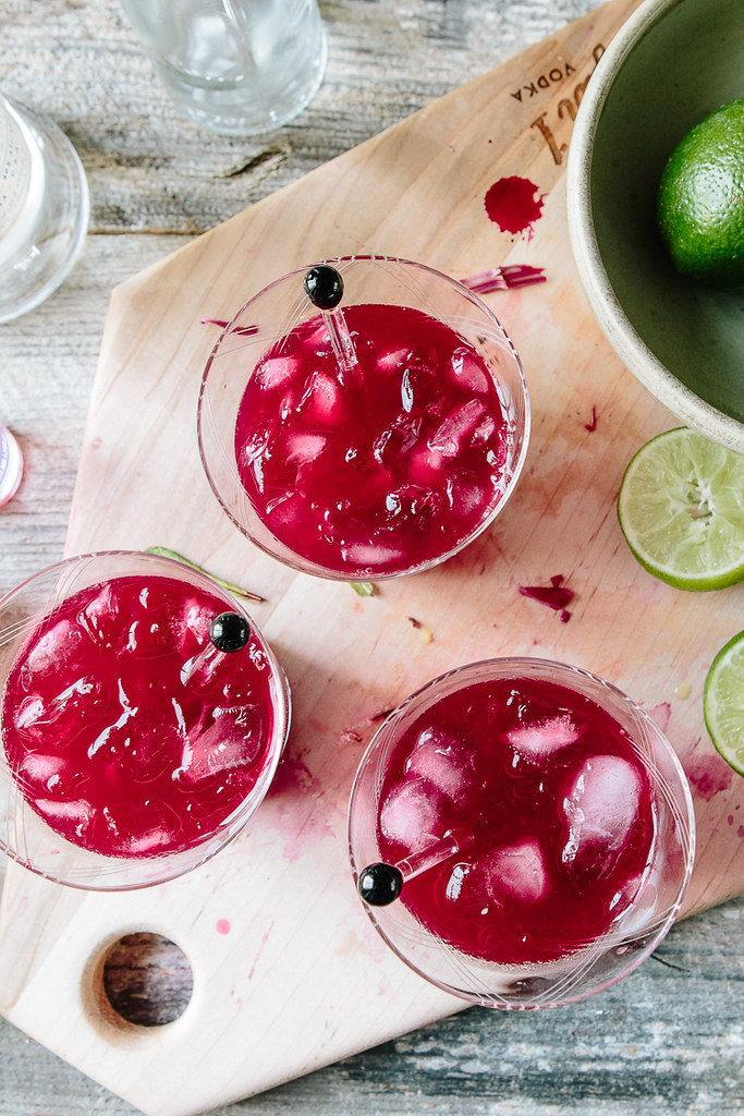 Beet Citrus Cocktail | the year in food