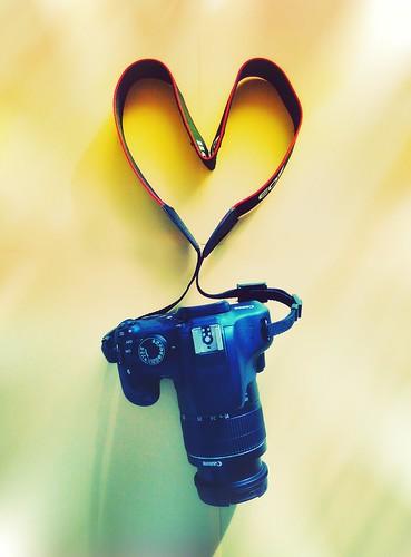 love canon lover photography passion art heart camera rainbowstyle random randomph