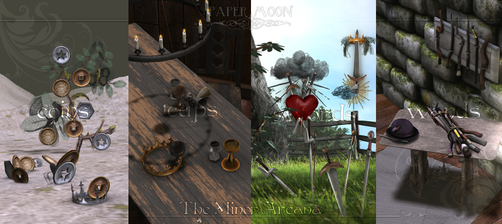 *pm* The Minor Arcana - advert - SecondLifeHub.com