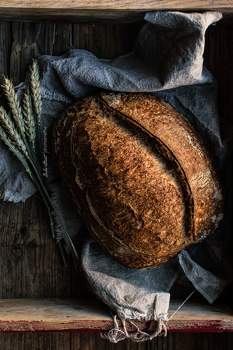 Pan básico, mi primer pan de masa madre
