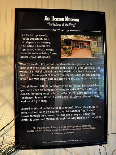 Greenville - Jim Henson Museum
