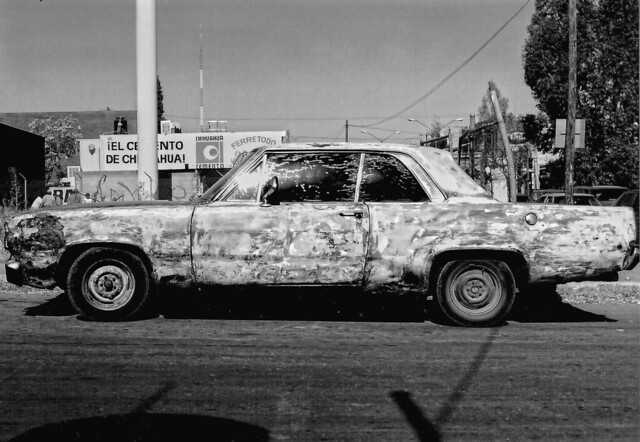 Paint Job; a car in Chihuhua, Mexico (2002)
