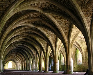 Fountains Abbey in perspective