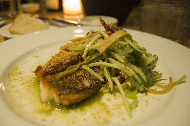 3rd Course: Sauteed Gulf Red Snapper | Flickr - Photo Sharing!