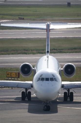 JAL MD-81 (JA8552) @ ITM/RJOO