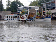 motor ship(0.0), ship(0.0), channel(0.0), cargo ship(0.0), barge(0.0), steamboat(0.0), ferry(1.0), vehicle(1.0), river(1.0), boating(1.0), paddle steamer(1.0), watercraft(1.0), boat(1.0), waterway(1.0),