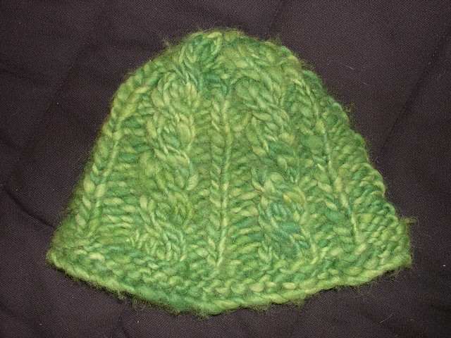 Knit Pattern Super Bulky Hat : Super Bulky Cabled Hat Flickr - Photo Sharing!