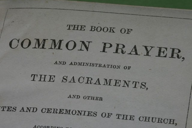 The Book Of Common Prayer from Flickr via Wylio