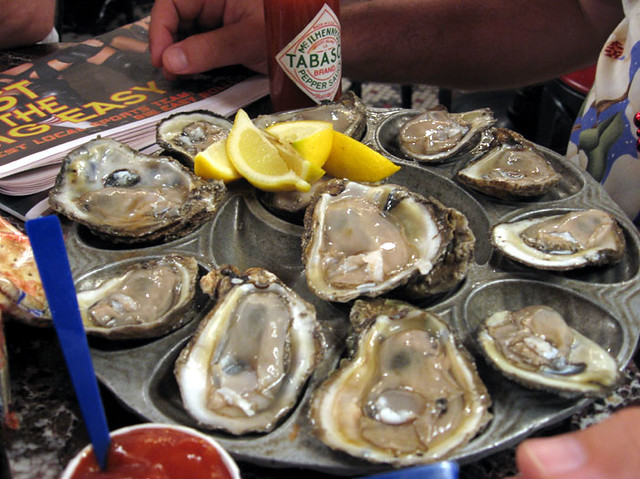how to prepare oysters on the half shell