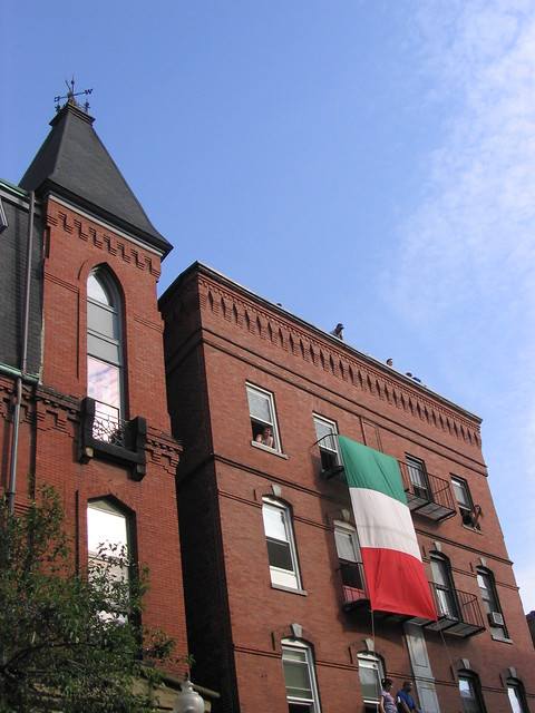 ginormous italian flag