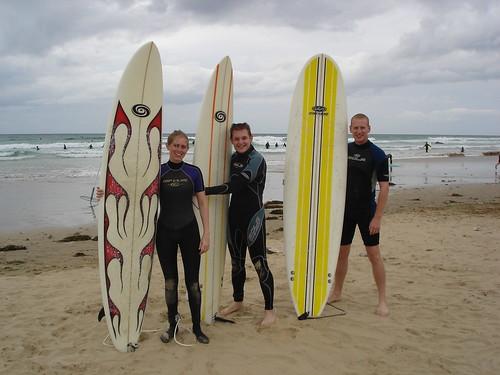 Newquay - pre surf shot