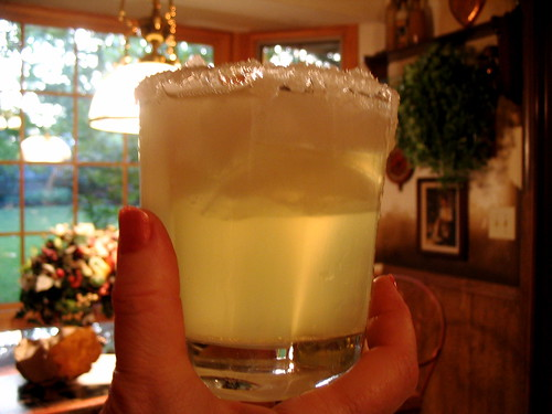 my dad makes the perfect margarita by Sarah Brown