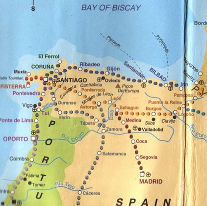 camino-map(s)