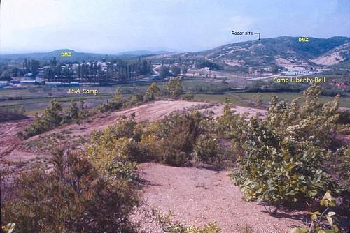 army korea dmz northkorea koreandmz radar dmzfence groundsurveillanceradar kaesong radarsite barrierfence viewpoint plottingboard camplibertybell campkittyhawk