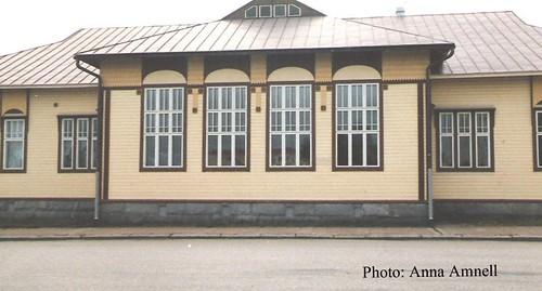 Iisalmen Kansakoulu (1908), Tyttölyseo (1949-1957): Wivi Lönn designed this school