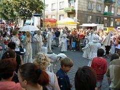 Gatvės spektaklis   Street performance