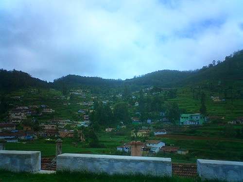 The outskirts of Ooty