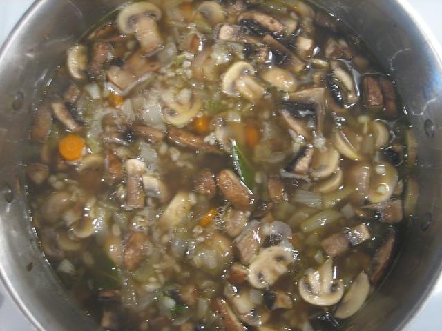 Mushroom & Barley Soup | Flickr - Photo Sharing!