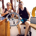 Small photo of Brad and Chep sailing