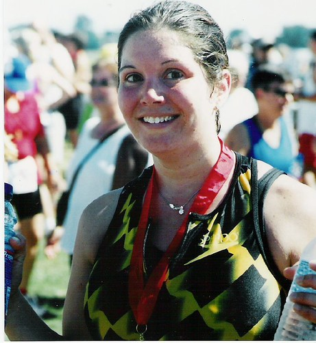 First Triathlon, 2002 (corrected)