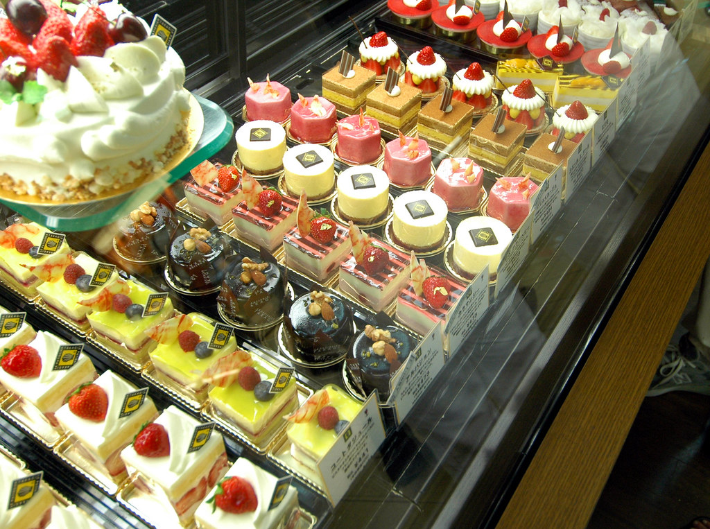 Cakes at Le Patissier Takagi