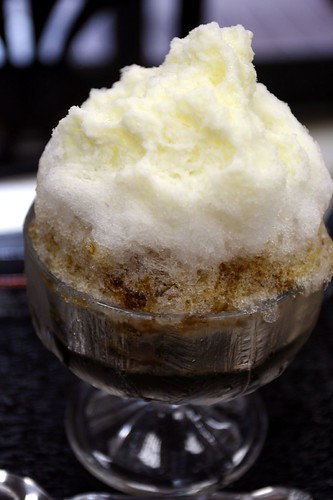"shaved ice ""Coffee Milk"""