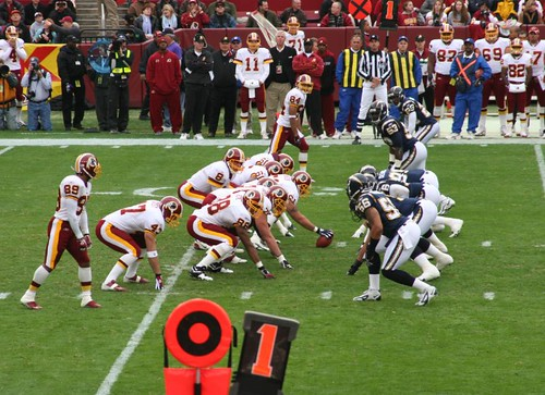 Redskins Chargers Game