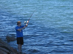 fishing, sea, recreation, casting fishing, outdoor recreation, recreational fishing, surf fishing, angling,