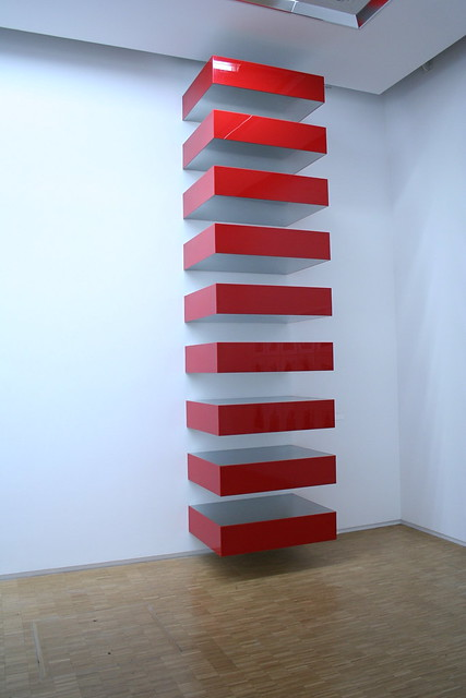 Donald judd stack flickr photo sharing for Donald judd stack 1972